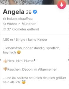 Perfektes Tinder Profil